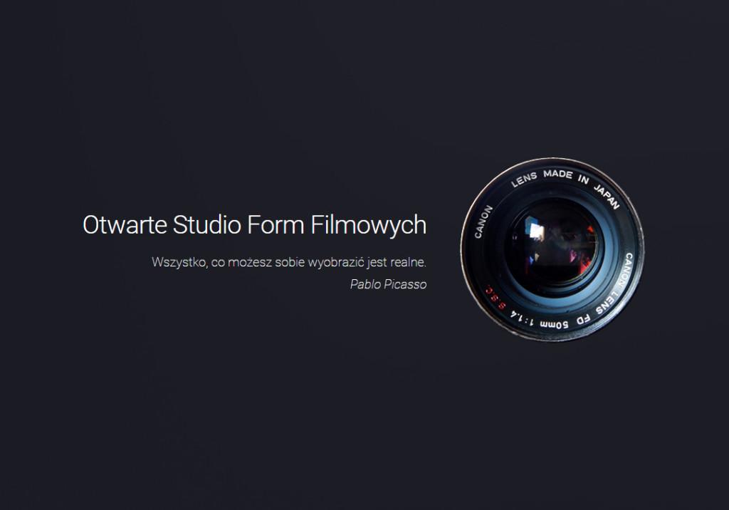 Otwarte Studio Form Filmowych